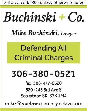 Buchinski + Co - Lawyers Digital Ad