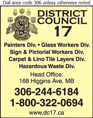 International Union of Painters & Allied Trades - Labour Organizations Digital Ad