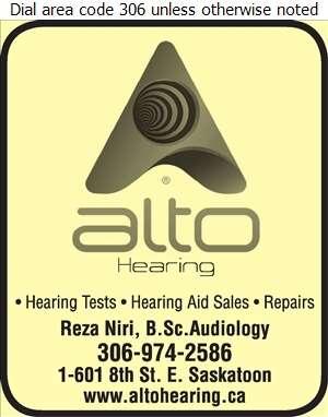 Alto Hearing Ltd - Hearing Assessment & Hearing Aids Digital Ad