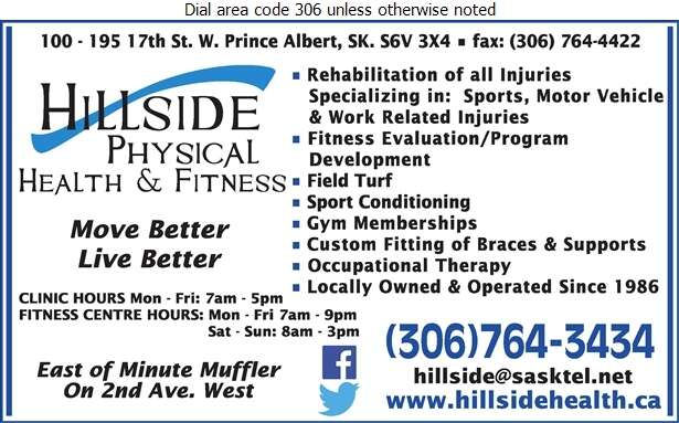 Hillside Physical Health And Fitness - Fitness Center Digital Ad