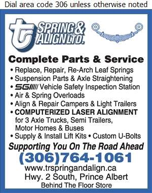 T-R Spring & Align - Wheel Alignment, Frame & Axle Servicing Auto Digital Ad