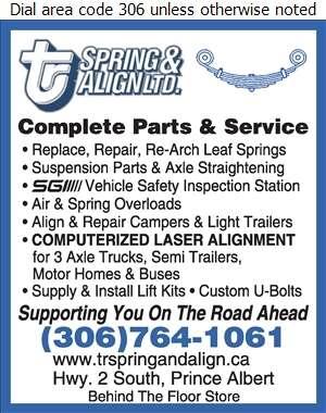 T-R Spring & Align - Wheel Alignment, Frame & Axle Servicing Auto Digital Ad