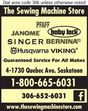 The Sewing Machine Store - Sewing Machines Sales & Service Digital Ad