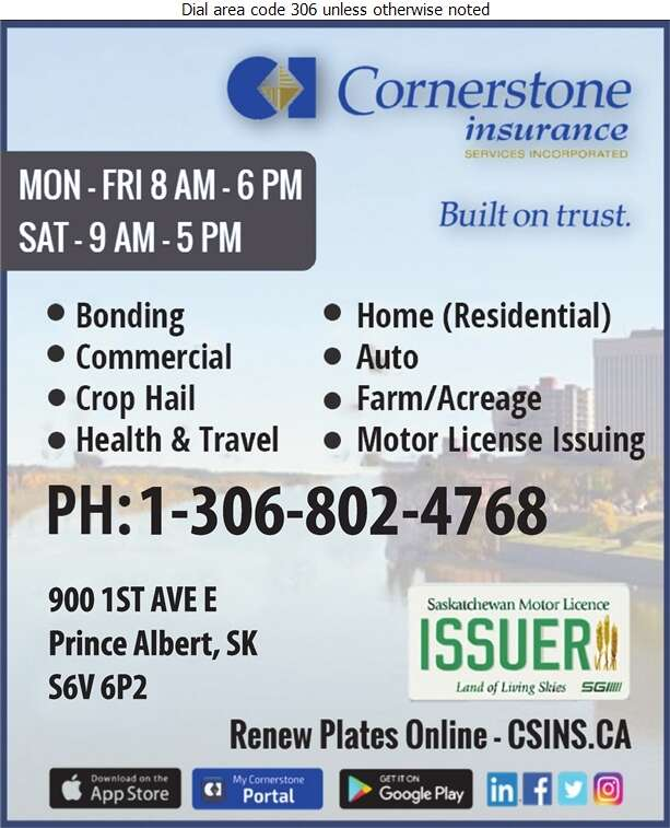 Cornerstone Insurance Services - Insurance Digital Ad