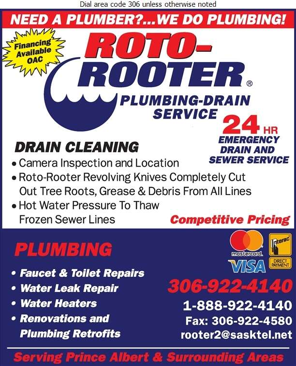 Roto-Rooter Sewer & Drain Cleaning - Plumbing Contractors Digital Ad