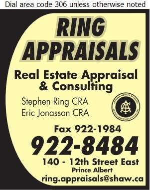 Ring Appraisals Ltd - Appraisers Digital Ad
