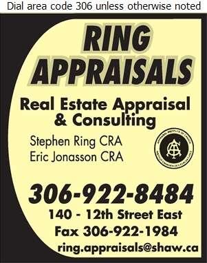 Ring Appraisals Ltd - Appraisers Digital Ad