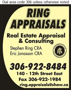 Ring Appraisals Ltd - Real Estate Appraisers Digital Ad
