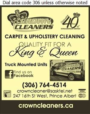 Crown Cleaners - Carpet & Rug Cleaners Digital Ad