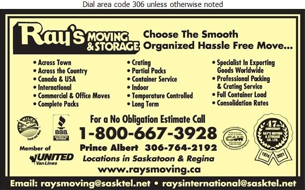 Ray's Moving & Storage - Movers Digital Ad
