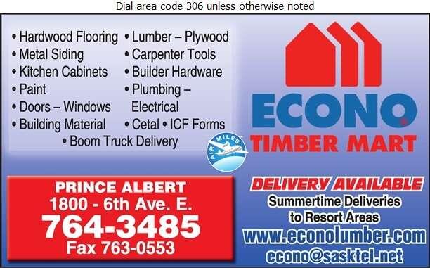 Econo Lumber - Lumber Retail Digital Ad