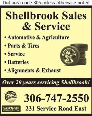 Shellbrook Sales & Service (1994) Ltd - Tire Dealers Retail Digital Ad