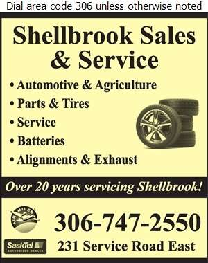 Shellbrook Sales & Service (1994) Ltd - Tire Dealers Retail Digital Ad