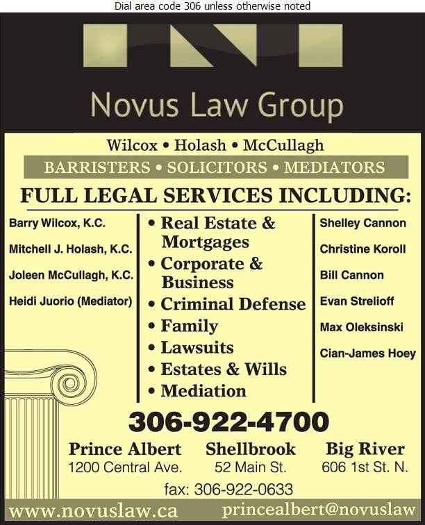 Novus Law Group - Lawyers Digital Ad