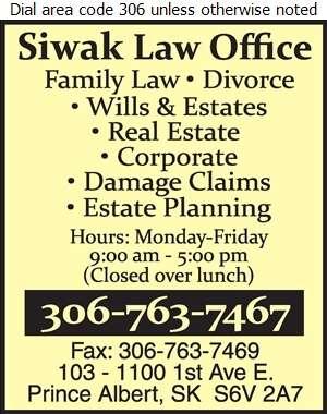 Siwak Law Office (Philip E West) - Lawyers Digital Ad