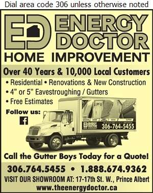 Energy Doctor - Eavestroughing Digital Ad