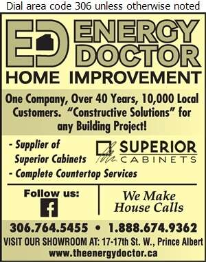 Energy Doctor - Counter Tops Digital Ad