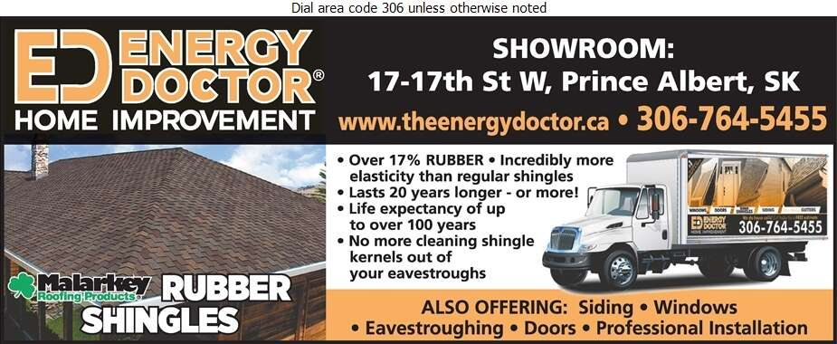 Energy Doctor - Roofing Contractors Digital Ad