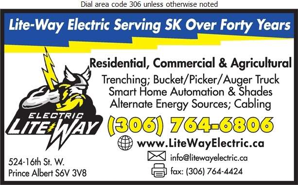 Lite-Way Electric (Rick Shultz Res) - Electric Contractors Digital Ad