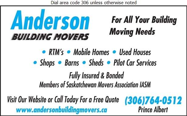 Anderson Building Movers - Building Movers Digital Ad