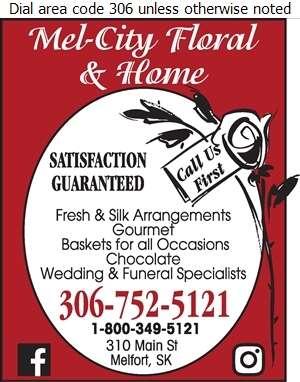 Mel-City Floral & Home - Florists Retail Digital Ad