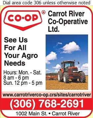 Carrot River Co-Operative Ltd - Farm Supplies Digital Ad