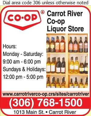 Carrot River Co-Operative Ltd - Liquor Stores Digital Ad
