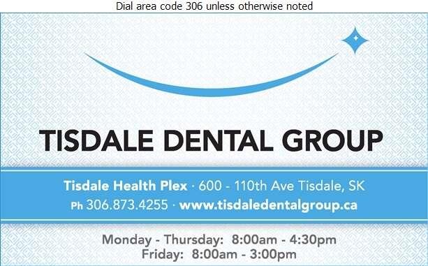 Tisdale Dental Group - Dentists Digital Ad