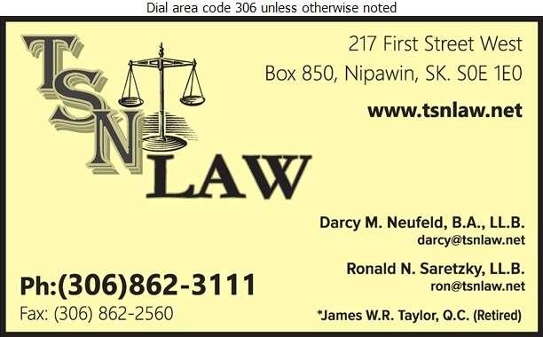 TSN Law - Lawyers Digital Ad