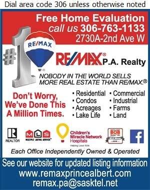 RE/MAX P A Realty - Real Estate Digital Ad
