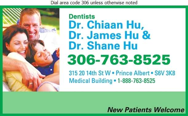 Hu Chiaan James & Shane Drs - Dentists Digital Ad