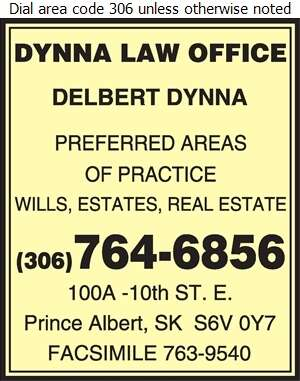 Dynna Delbert M Law Office - Lawyers Digital Ad