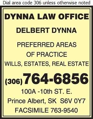 Dynna Delbert M Law Office - Lawyers Digital Ad