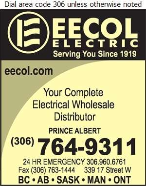 Eecol Electric (24 Hr Emergency) - Electric Equipment & Supplies Whol Digital Ad