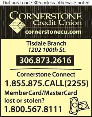 Cornerstone Credit Union Tisdale Branch - Credit Unions Digital Ad