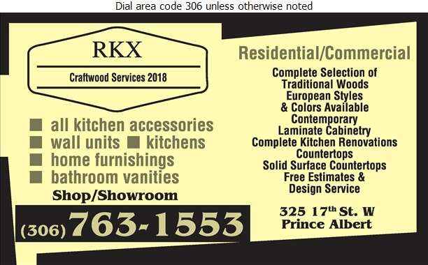 RKX Craftwood Services - Kitchen Cabinets & Equipment Digital Ad