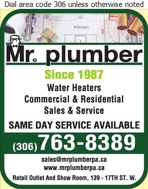Mr Plumber - Water Heaters Dealers Digital Ad
