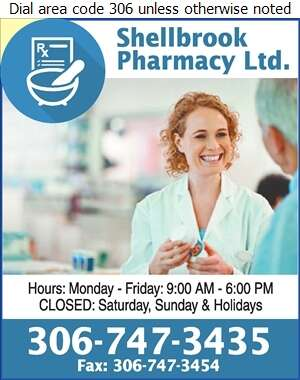 Shellbrook Pharmacy Ltd (Krista Moe) - Pharmacies Digital Ad