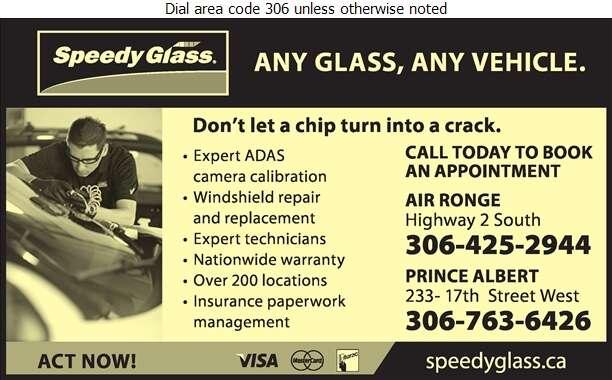 Speedy Glass - Glass Auto, Float, Plate, Window Etc Digital Ad