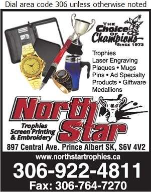 North Star Trophies & Screenprinting - Trophies Retail Digital Ad