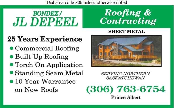 JL Depeel Roofing & Contracting - Roofing Contractors Digital Ad