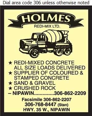 Holmes Redi-Mix - Concrete Ready Mixed Digital Ad