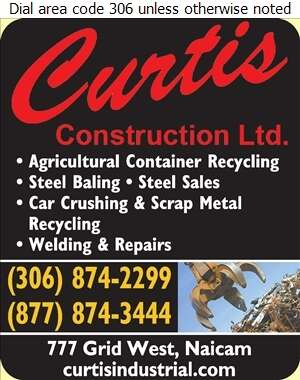 Curtis Construction Ltd - Environmental Products & Services Digital Ad