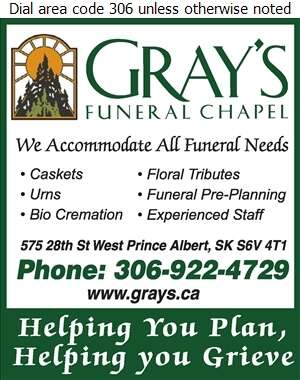 Gray's Funeral Chapel - Funeral Homes & Planning Digital Ad