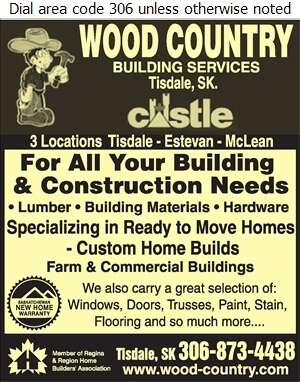 Wood Country - Home Builders Digital Ad