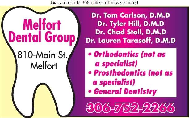 Melfort Dental Group - Dentists Digital Ad