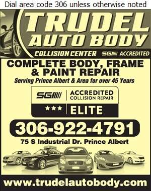 Trudel Auto Body Collision Centre - Auto Body Repairing Digital Ad