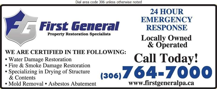 First General - Flood Damage Restoration & Floodproofing Digital Ad