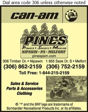Pines Power Sports Marine - All Terrain Vehicles Digital Ad