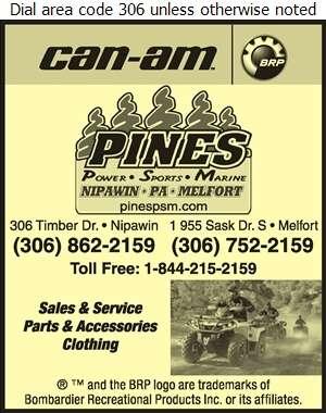Pines Power Sports Marine - All Terrain Vehicles Digital Ad
